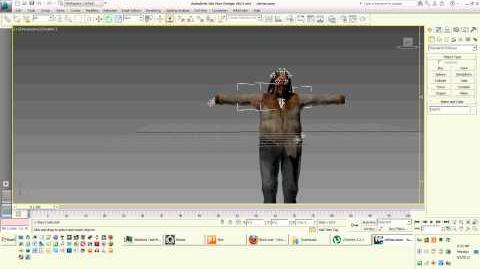 Dead rising autodesk 3d cletus rotation not working