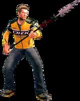 Dead rising spear holding