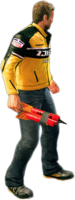 Dead rising sticky bomb holding