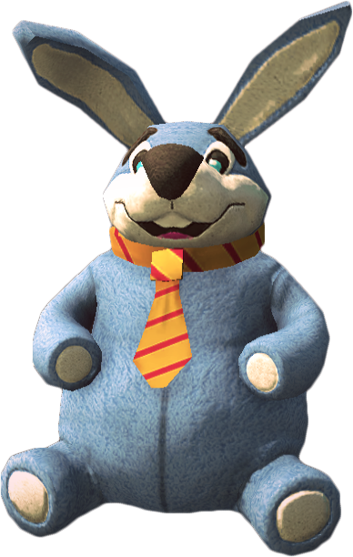 Giant Stuffed Rabbit