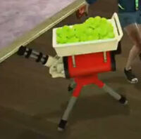 Dead rising uranus zone tennis ball launcher
