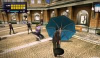 Dead rising parasol hitting zombies in al fresca (4)