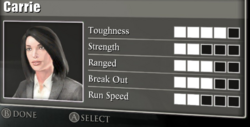 Carrie Stats