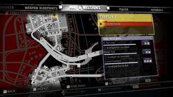 Flaming Helmet Blueprint Location Map