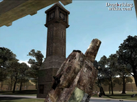 Dead rising helicopter crashed into clock tower (5)