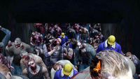 Dead rising cave cutscene zombies in hole