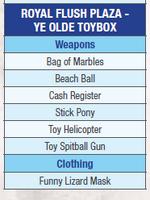 Dead rising 2 ye olde toybox list