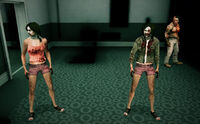 Dead rising zombies groups of 3