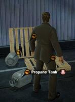 Dead rising in case west propane tank