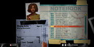 Dead rising notebook missing name missing description