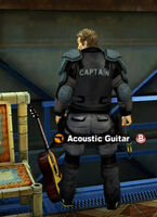 Dead rising in case west acoustic guitar