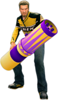 Dead rising rocket launcher (world's most dangerous trick) holding