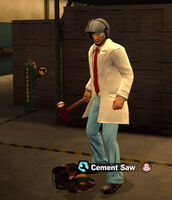 Dead rising in case west Cement Saw