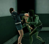 Dead rising zombies attacking zombies