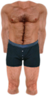 Dead rising Shirtless with Blue Boxers and Barefoot.png