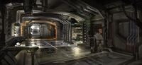 Ship Security Hall concept