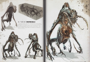 Deadspace3 alienspecies conceptart artofdeadspace