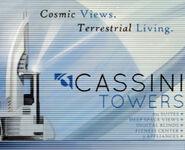 Cassini towers