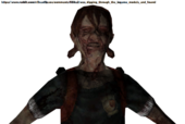 Dead Space 2 - The Pack female (unused) (3)