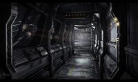 Dark Corridor concept