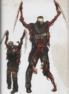 Slasher concept art art of dead space