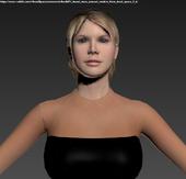 Dead Space 2 - Nicole dress (unused) (2)