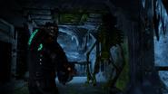 Deadspace3 artifact storage alien skeleton