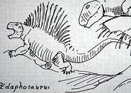 An Edaphosaurus