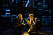 Mike Faist and Ben Platt in the Broadway production promotional still