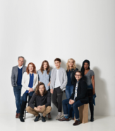 Broadway cast with Taylor Trensch promotional image
