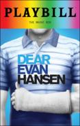 Dear Evan Hansen Broadway June 2018 playbill
