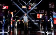 Broadway cast featuring Ben Platt during You Will Be Found promotional still