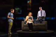 Ben Platt, Jennifer Laura Thompson and Michael Park in the Broadway production promotional still