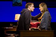Ben Platt and Laura Dreyfuss in the Broadway production promotional still