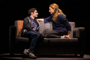 Ben Levi Ross and Jessica Phillips in the US Tour production promotional still