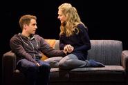 Ben Platt and Rachel Bay Jones in the Broadway production promotional still