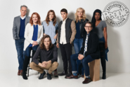 Broadway cast with Noah Galvin promotional image