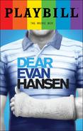 Dear Evan Hansen Broadway June 2017 playbill