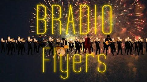 BRADIO-Flyers【TVアニメ「デス・パレード」OP曲】(OFFICIAL_VIDEO)