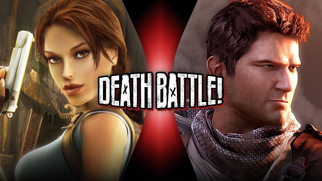 Lara Croft VS Nathan Drake