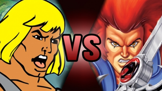 He-Man VS Lion-O