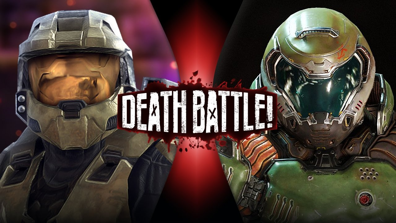 Master Chief VS Doomguy