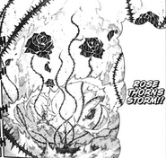 Chapter 105 - Crona performs Rose Thorns Storm