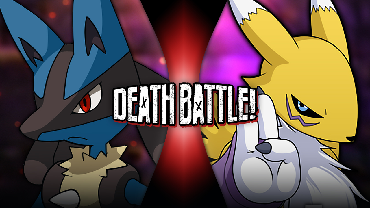 Lucario VS Renamon