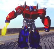 Optimus in Death Race