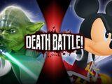 Yoda VS King Mickey