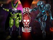 Perfect Cell vs Dark Samus