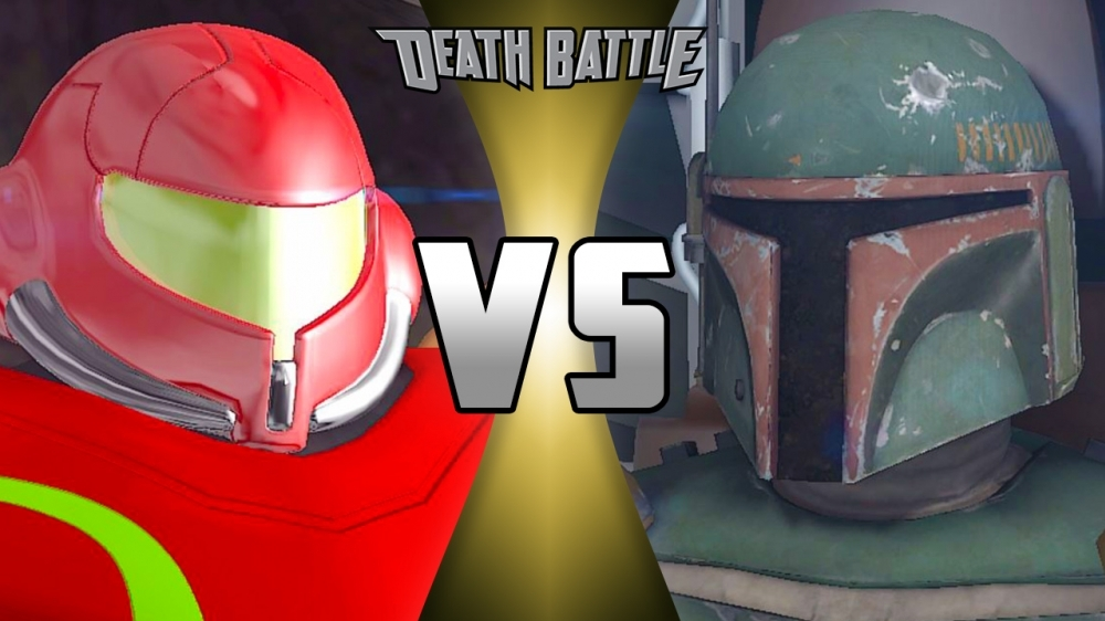 Boba Fett VS Samus Aran (Remastered)