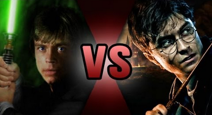 Luke Skywalker VS Harry Potter