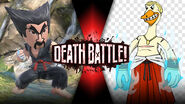 Heihachi vs Geese battle